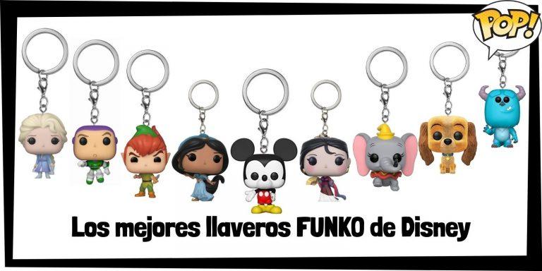 Los mejores llaveros FUNKO POP de Disney - Llaveros Funko POP Pocket de Disney - Keychain FUNKO POP