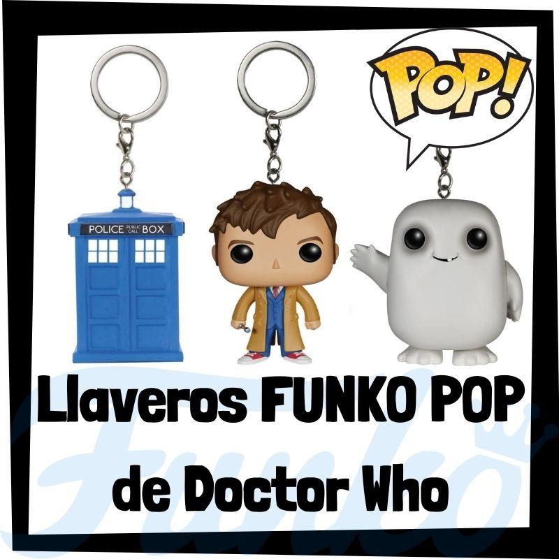 Los mejores llaveros FUNKO POP de Doctor Who