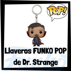 Los mejores llaveros FUNKO POP de Dr. Strange de los Vengadores de Marvel - Llavero Funko POP de Dr. Strange - Keychain FUNKO Pocket POP de Marvel