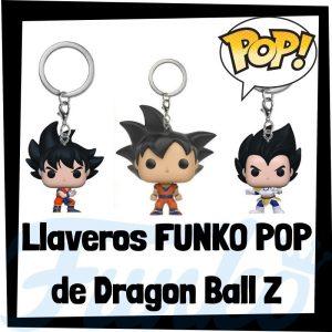 Los mejores llaveros FUNKO POP de Dragon Ball Z - Llavero Funko POP Pocket de personajes de Dragon Ball Z - Keychain FUNKO POP de Bola de Dragón