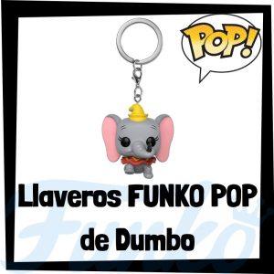 Los mejores llaveros FUNKO POP de Dumbo de Disney - Llavero Funko POP de Dumbo - Keychain FUNKO Pocket POP de Disney