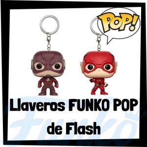 Los mejores llaveros FUNKO POP de Flash de DC - Llavero Funko POP de The Flash - Keychain FUNKO POP de DC
