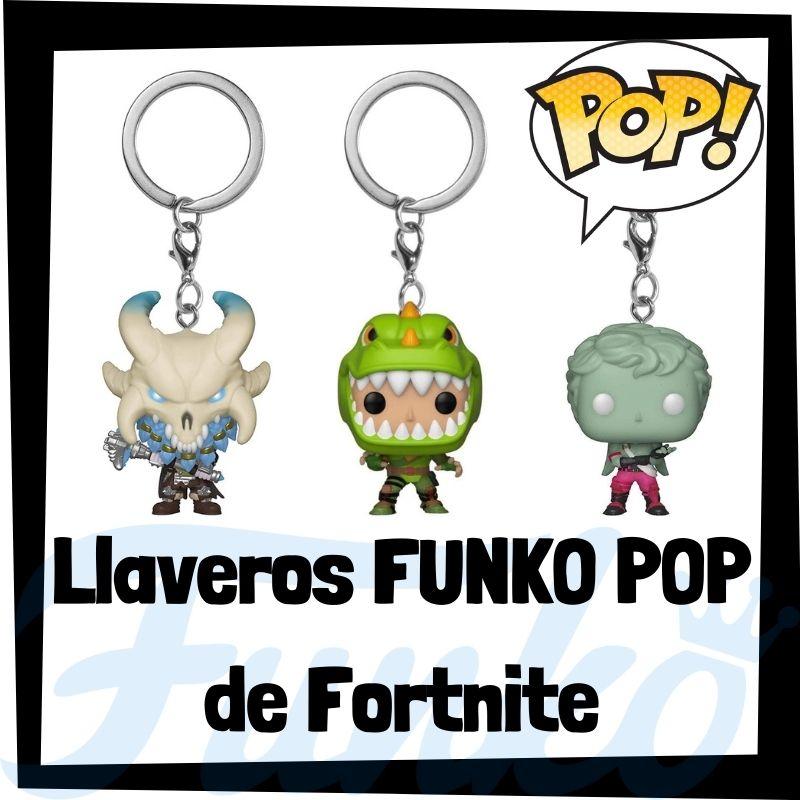Los mejores llaveros FUNKO POP de Fortnite