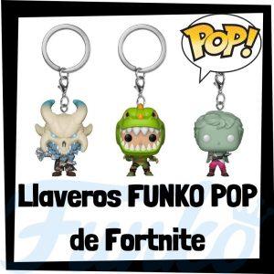 Los mejores llaveros FUNKO POP de Fortnite - Llavero Funko Pocket POP de Fortnite - Keychain FUNKO POP del videojuego del Fortnite