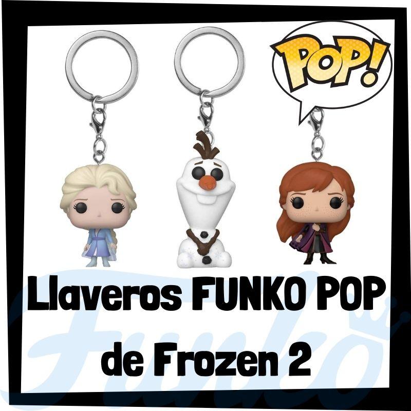 Los mejores llaveros FUNKO POP de Frozen 2
