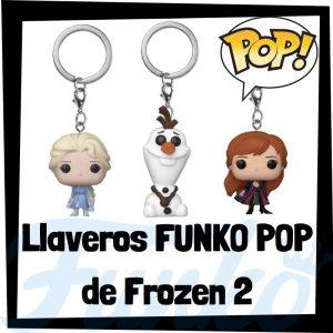 Los mejores llaveros FUNKO POP de Frozen 2 de Disney - Llavero Funko POP de Frozen - Keychain FUNKO Pocket POP de Disney