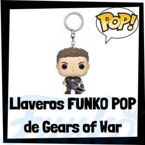 Los mejores llaveros FUNKO POP de Gears of War - Llavero Funko POP Pocket de Gears of War - Keychain FUNKO POP del videojuego del Gears of War