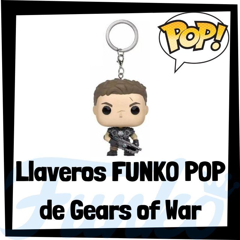 Los mejores llaveros FUNKO POP de Gears of War