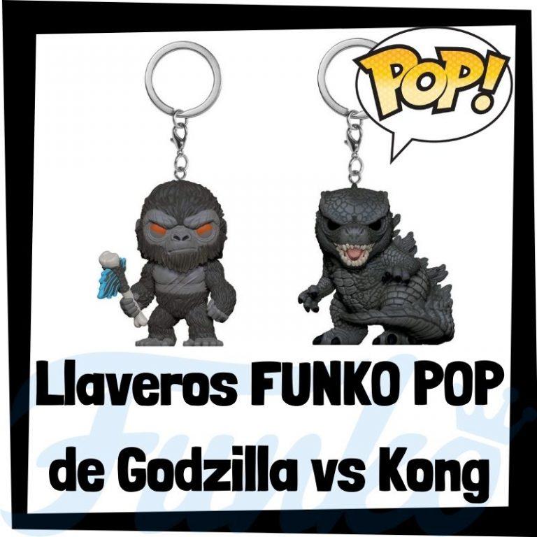 Lee más sobre el artículo Los mejores llaveros FUNKO POP de Godzilla vs Kong