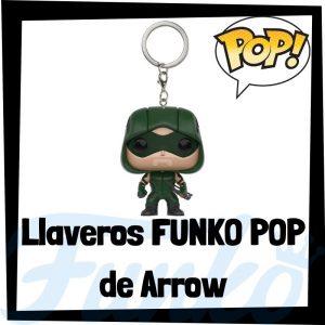 Los mejores llaveros FUNKO POP de Green Arrow de DC - Llavero Funko POP Pocket de Arrow - Keychain FUNKO POP de DC