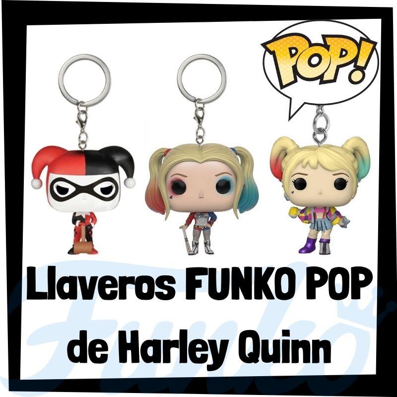 Los mejores llaveros FUNKO POP de Harley Quinn