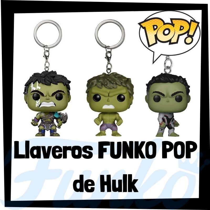 Los mejores llaveros FUNKO POP de Hulk