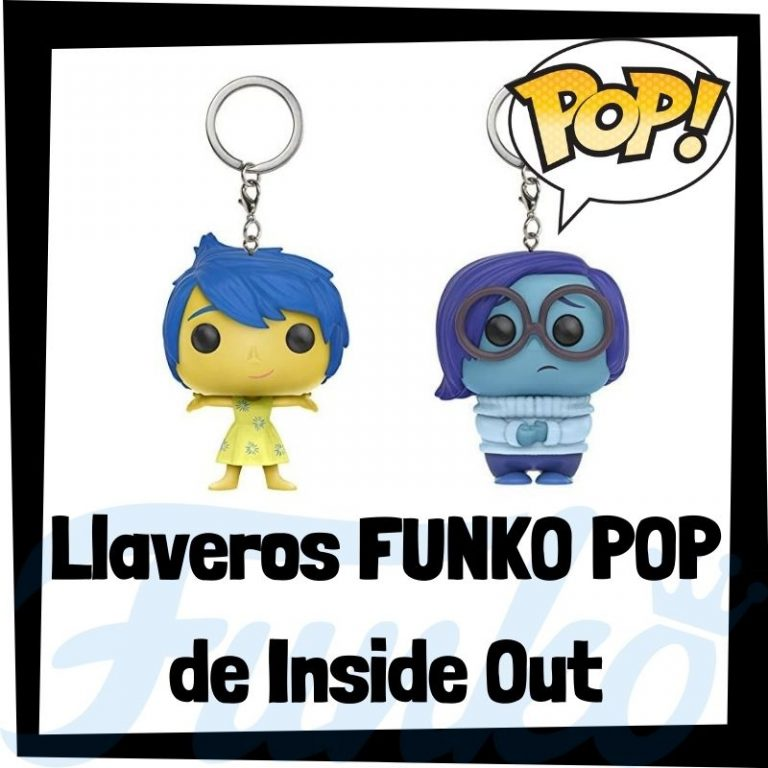 Lee más sobre el artículo Los mejores llaveros FUNKO POP de Inside Out
