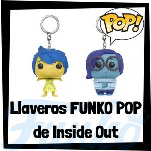 Los mejores llaveros FUNKO POP de Inside Out de Disney - Llavero Funko POP de Inside Out - Keychain FUNKO Pocket POP de Disney