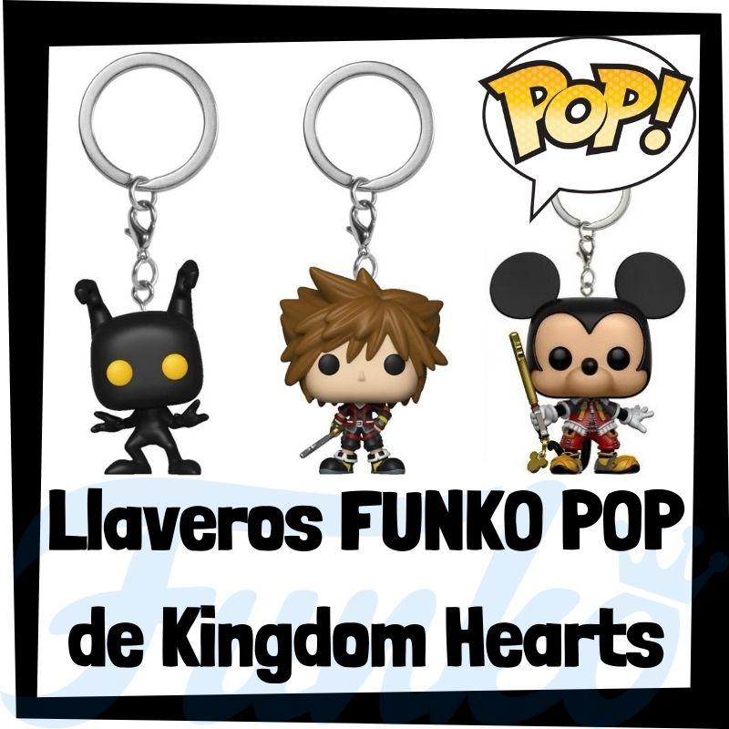 Los mejores llaveros FUNKO POP de Kingdom Hearts