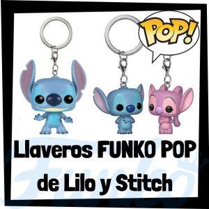Los mejores llaveros FUNKO POP de Lilo y Stitch de Disney - Llavero Funko POP de Lilo y Stitch - Keychain FUNKO Pocket POP de Disney