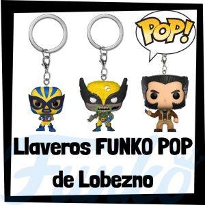 Los mejores llaveros FUNKO POP de Lobezno de los Vengadores de Marvel - Llavero Funko POP Pocket de Lobezno - Wolverine - Keychain FUNKO POP de Marvel