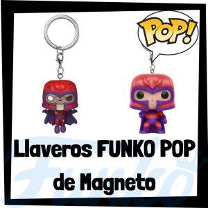 Los mejores llaveros FUNKO POP de Magneto de los Vengadores de Marvel - Llavero Funko POP Pocket de Magneto - Keychain FUNKO POP de Marvel