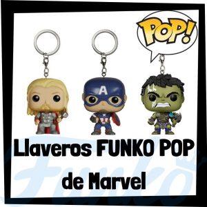 Los mejores llaveros FUNKO POP de Marvel - Llavero Funko POP de los Vengadores de Marvel - Keychain FUNKO POP de Marvel