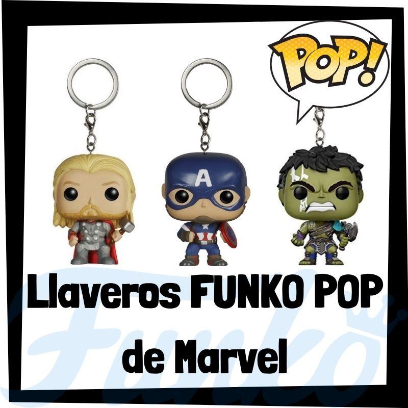 Los mejores llaveros FUNKO POP de Marvel