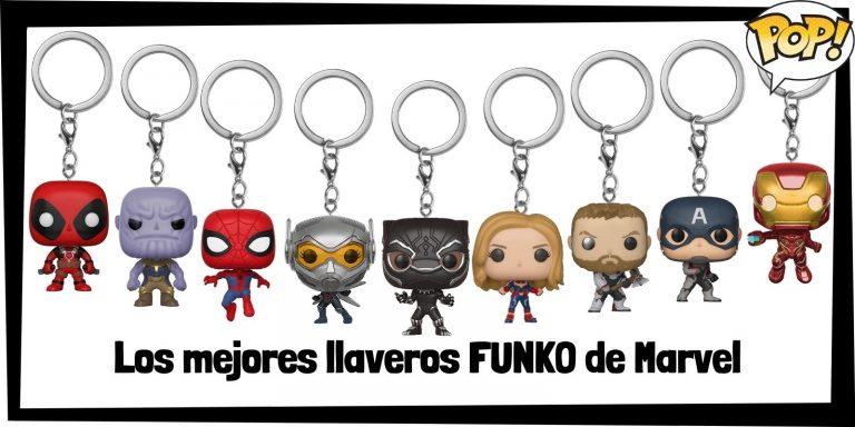 Los mejores llaveros FUNKO POP de Marvel - Set de llaveros Pocket FUNKO Marvel - Keychain de Marvel