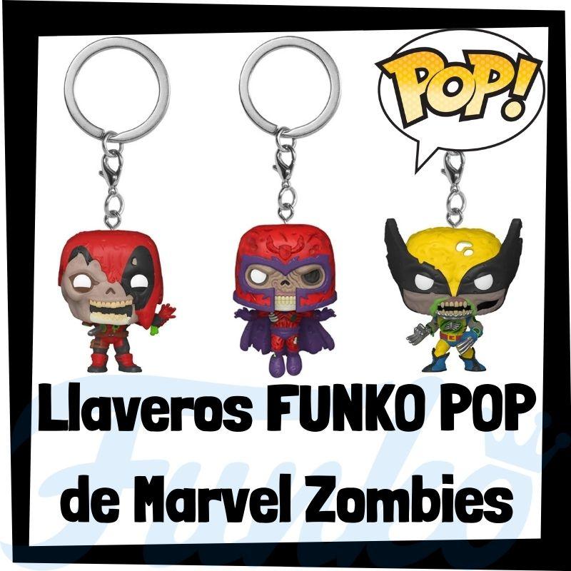 Los mejores llaveros FUNKO POP de Marvel Zombies
