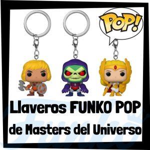 Los mejores llaveros FUNKO POP de Masters del Universo - Llavero Funko POP Pocket de Masters del Universo - Keychain FUNKO POP de la serie de Masters del Universo