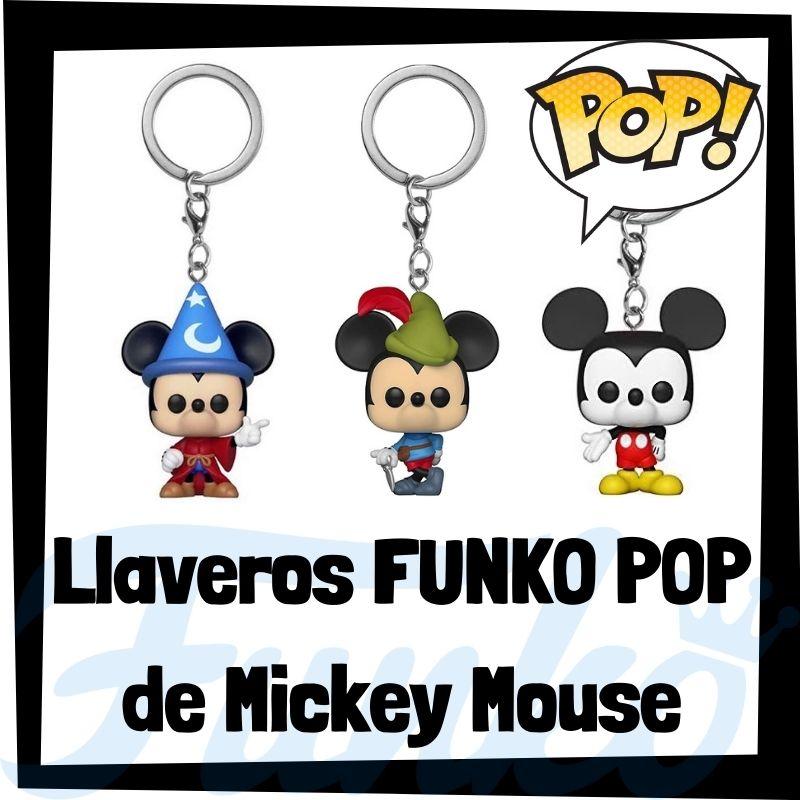 Los mejores llaveros FUNKO POP de Mickey Mouse