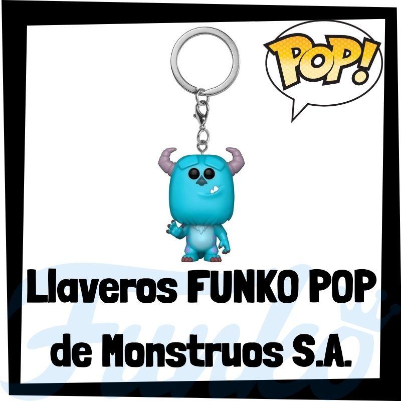 Los mejores llaveros FUNKO POP de Monstruos S.A.