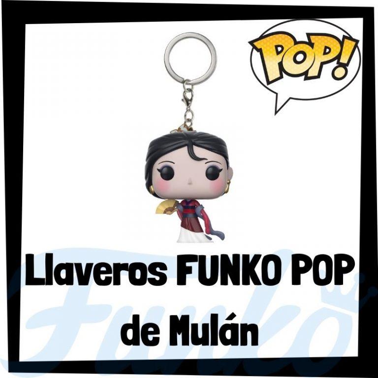 Lee más sobre el artículo Los mejores llaveros FUNKO POP de Mulán