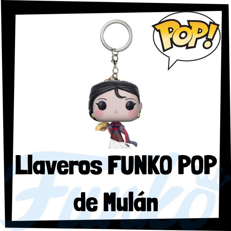 Los mejores llaveros FUNKO POP de Mulán