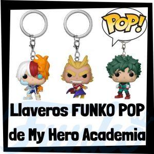 Los mejores llaveros FUNKO POP de My Hero Academia - Llavero Funko POP Pocket de personajes de My Hero Academia - Keychain FUNKO POP de My Hero Academia