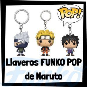 Los mejores llaveros FUNKO POP de Naruto - Llavero Funko POP Pocket de personajes de Naruto- Keychain FUNKO POP de Naruto