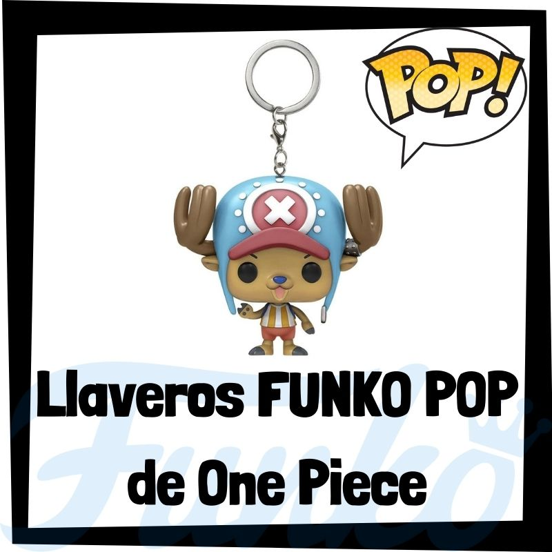 Los mejores llaveros FUNKO POP de One Piece