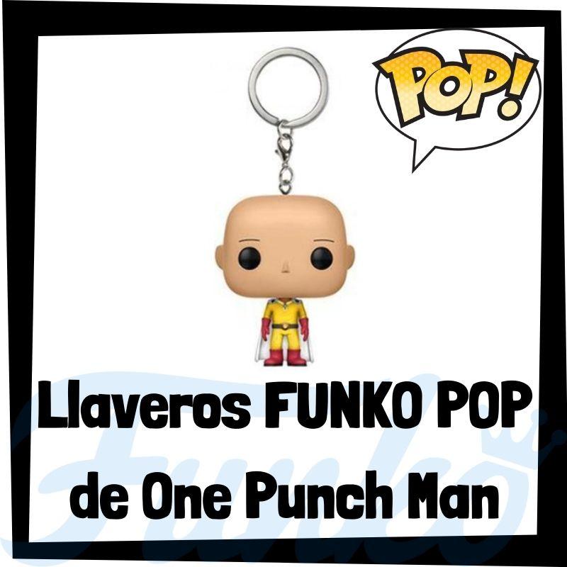 Los mejores llaveros FUNKO POP de One Punch Man