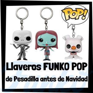Los mejores llaveros FUNKO POP de Pesadilla antes de Navidad de Disney - Llavero Funko POP de Nightmare Before Christmas - Keychain FUNKO Pocket POP de Disney