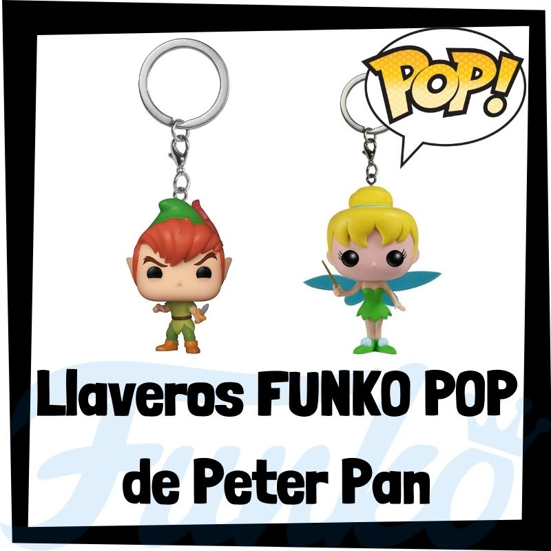 Los mejores llaveros FUNKO POP de Peter Pan