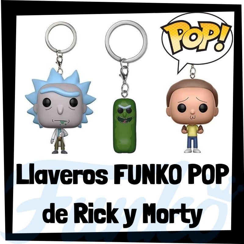 Los mejores llaveros FUNKO POP de Rick y Morty