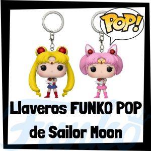 Los mejores llaveros FUNKO POP de Sailor Moon - Llavero Funko POP Pocket de personajes de Sailor Moon - Keychain FUNKO POP de Sailor Moon