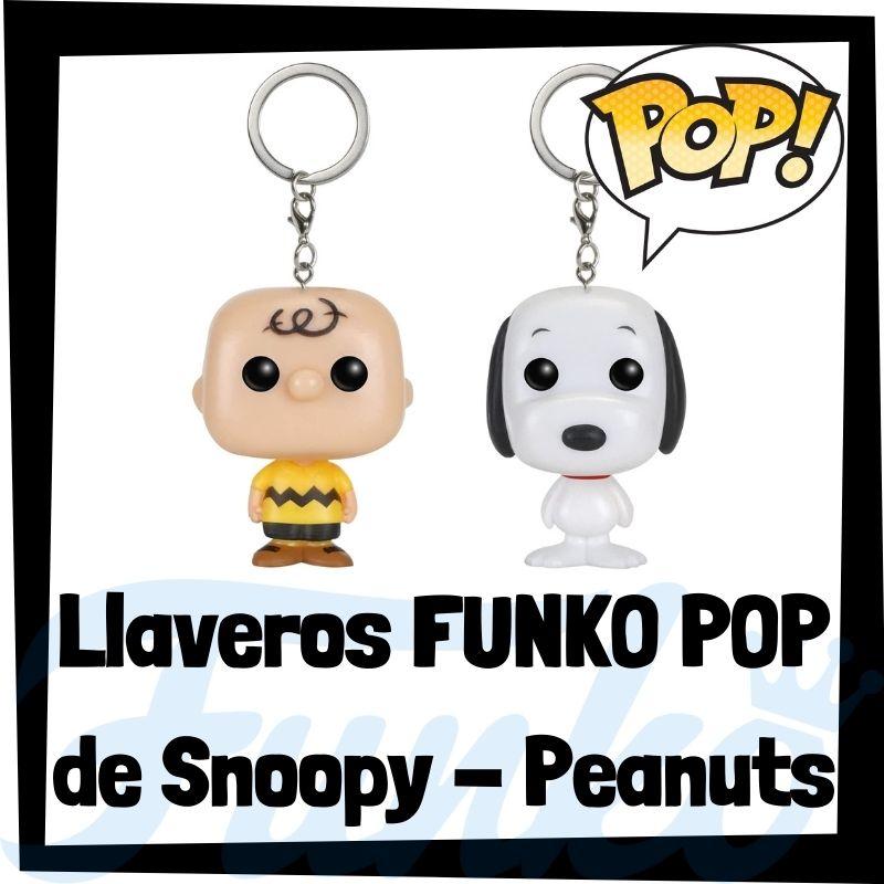 Los mejores llaveros FUNKO POP de Snoopy