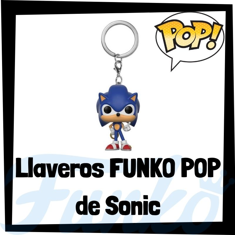 Los mejores llaveros FUNKO POP de Sonic