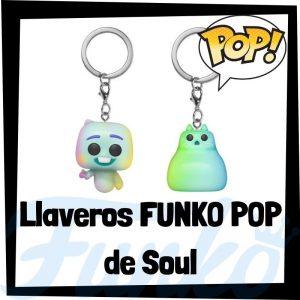 Los mejores llaveros FUNKO POP de Soul de Disney - Llavero Funko POP de Soul - Keychain FUNKO POP Pocket de Disney Pixar