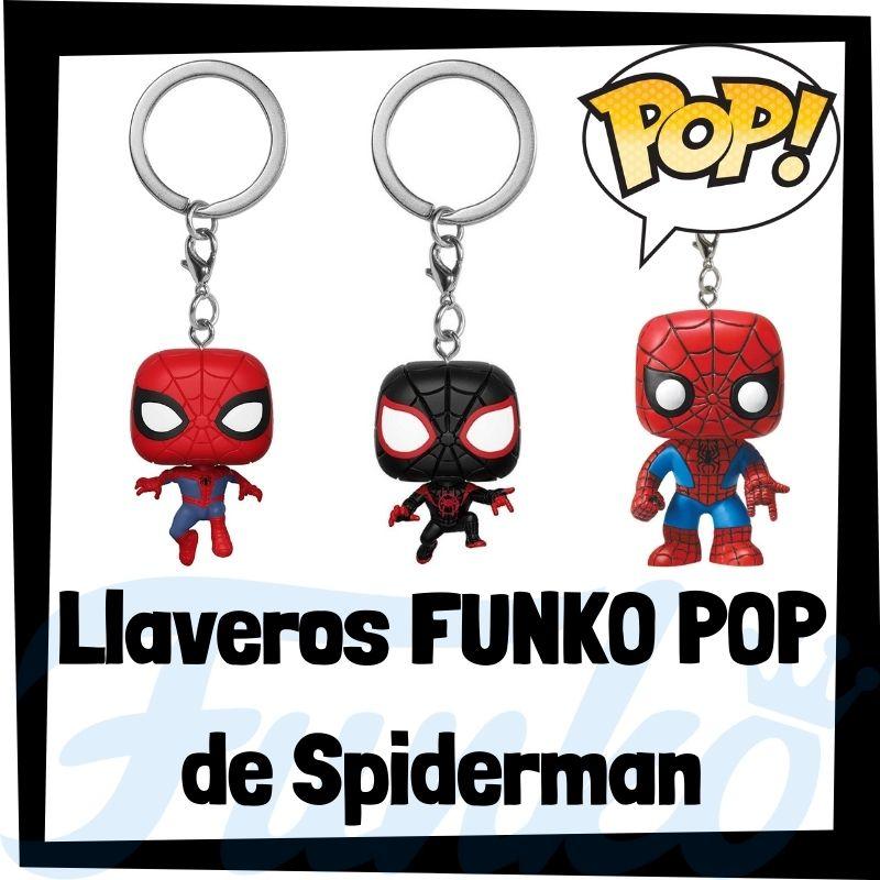 Los mejores llaveros FUNKO POP de Spiderman