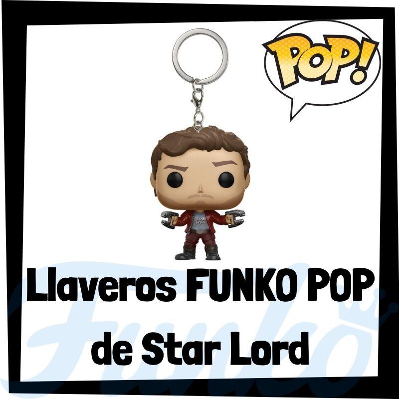 Los mejores llaveros FUNKO POP de Star Lord