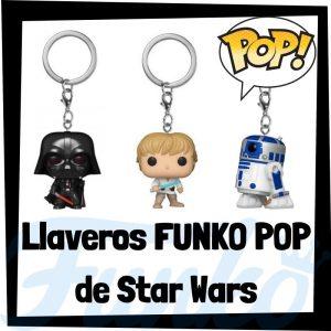 Los mejores llaveros FUNKO POP de Star Wars - Llavero Funko POP de personajes de Star Wars - Keychain FUNKO POP de la Guerra de las Galaxias