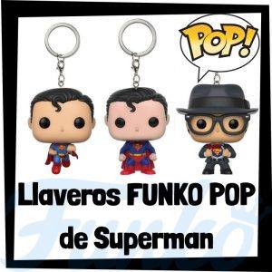 Los mejores llaveros FUNKO POP de Superman de DC - Llavero Funko POP Pocket de Superman - Keychain FUNKO POP de DC