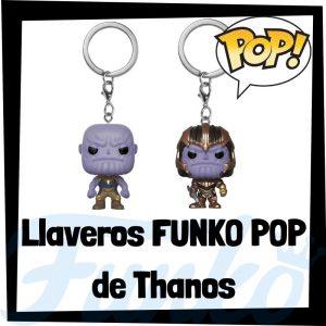 Los mejores llaveros FUNKO POP de Thanos de los Vengadores de Marvel - Llavero Funko POP de Thanos - Keychain FUNKO Pocket POP de Marvel