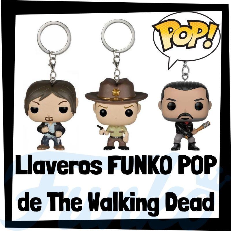 Los mejores llaveros FUNKO POP de The Walking Dead