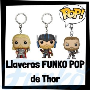 Los mejores llaveros FUNKO POP de Thor de los Vengadores de Marvel - Llavero Funko POP de Thor - Keychain FUNKO Pocket POP de Marvel
