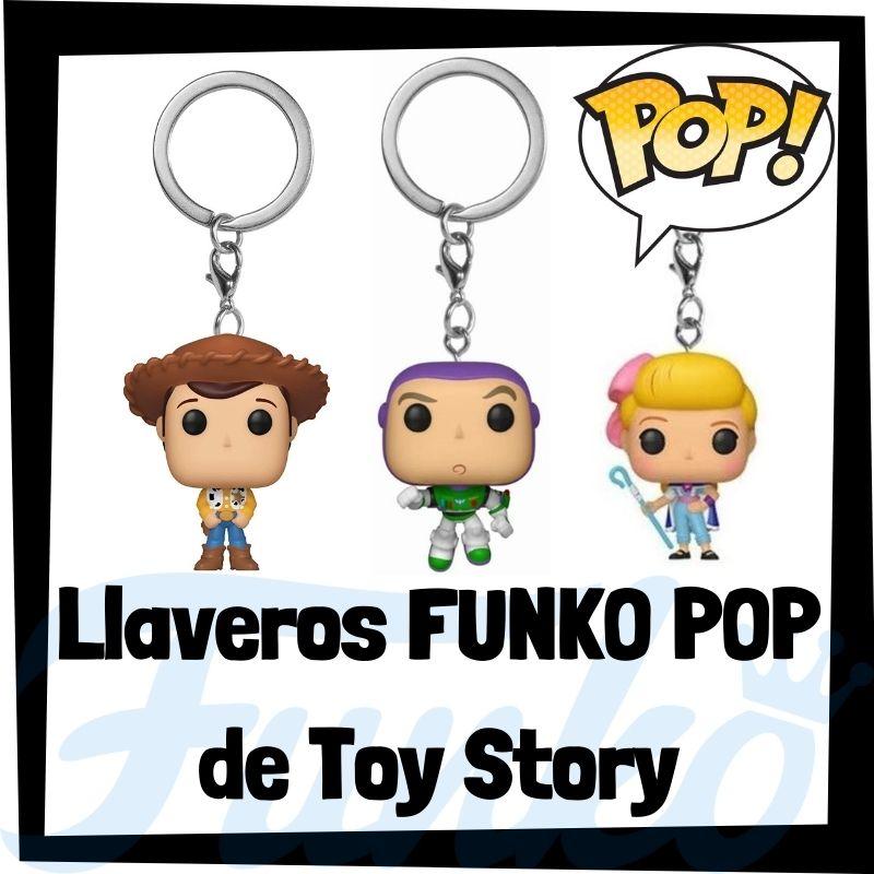 Los mejores llaveros FUNKO POP de Toy Story